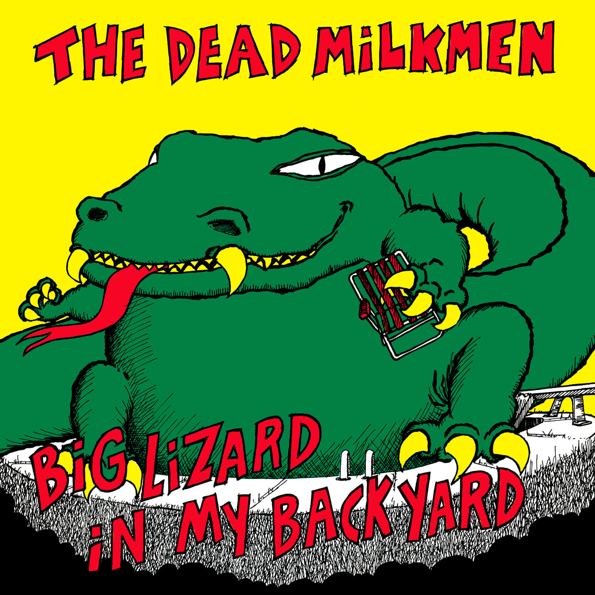 The Dead Milkmen: Big Lizard In My Backyard (Colored Vinyl) Vinyl LP (Record Store Day)
