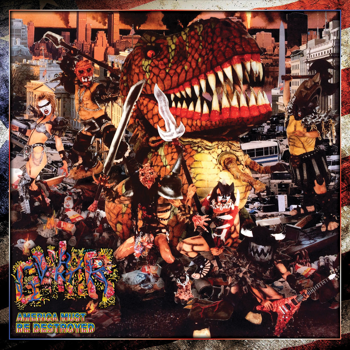 GWAR : America Must Be Destroyed Vinyl 2LP (Record Store Day)