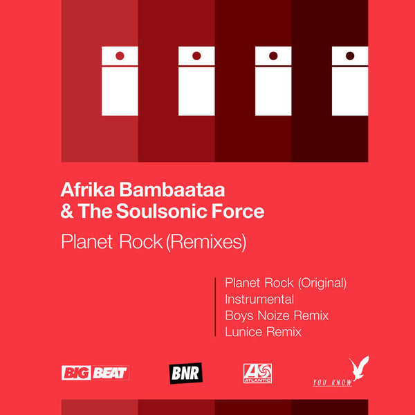 "Afrika Bambaataa & The Soulsonic Force: Planet Rock Vinyl 12"" (Record Store Day)"
