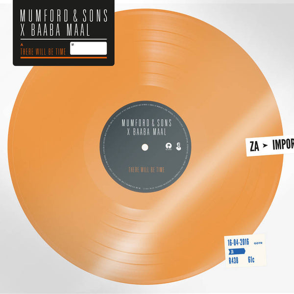 "Mumford & Sons + Baaba Maal: There Will Be Time (Colored Vinyl) Vinyl 7"" (Record Store Day)"