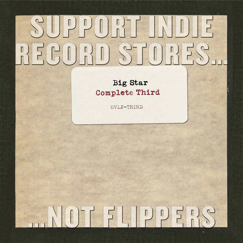 Big Star: Complete Third Vol.3 Vinyl 2LP Boxset (Record Store Day)
