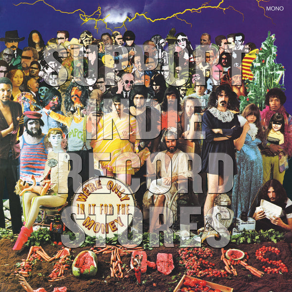 "Frank Zappa: We're Only In It For The Money (Mono, Pic Disc) Vinyl 12"" (Record Store Day)"