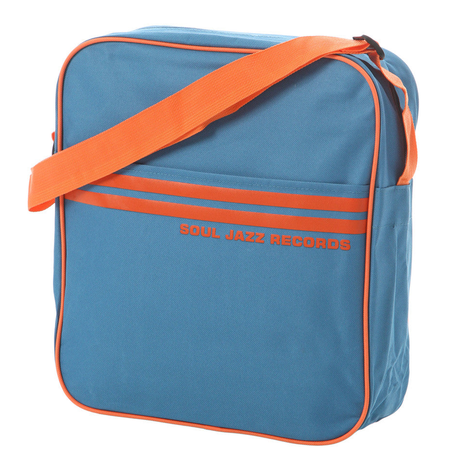 "Soul Jazz: Record Bag 12"" - Marine Blue / Orange"