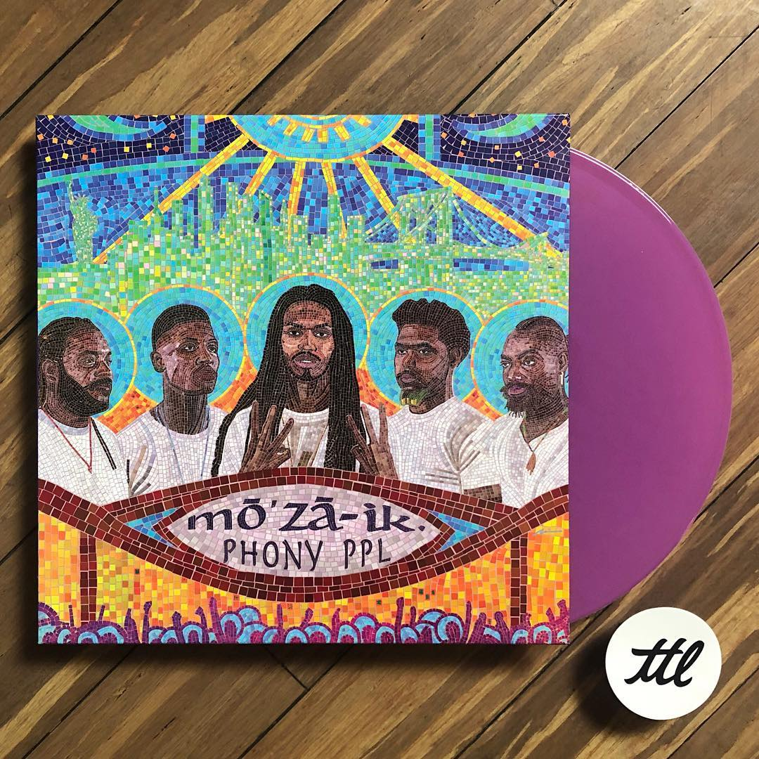 Phony Ppl: mo'za-ik. (Colored Vinyl) Vinyl 2LP
