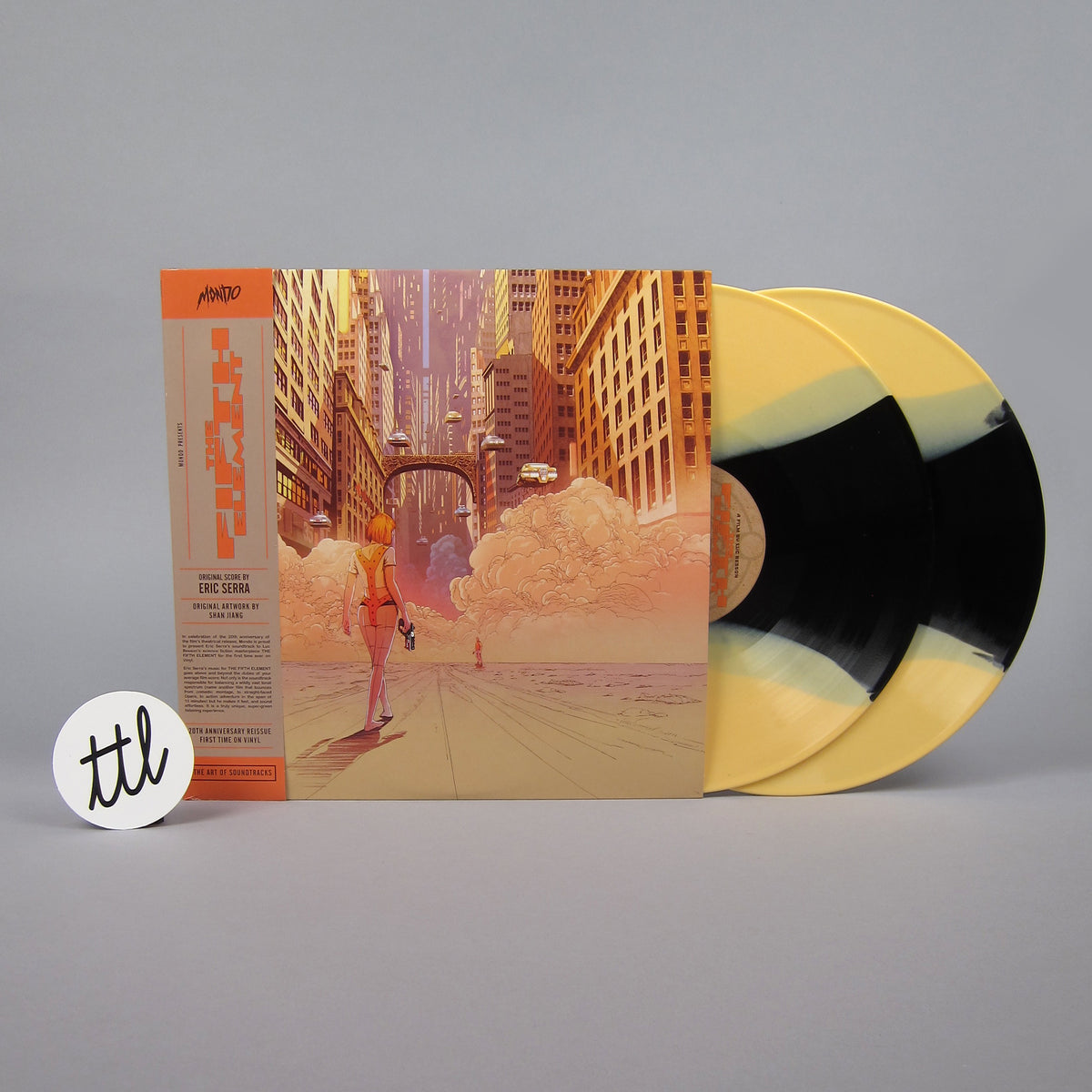Eric Serra: Fifth Element (Colored Vinyl) Vinyl 2LP - Turntable Lab Exclusive