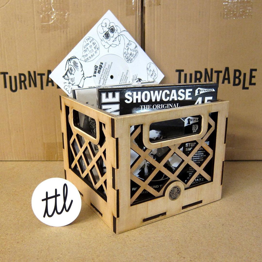Stones Throw: 45 Crate
