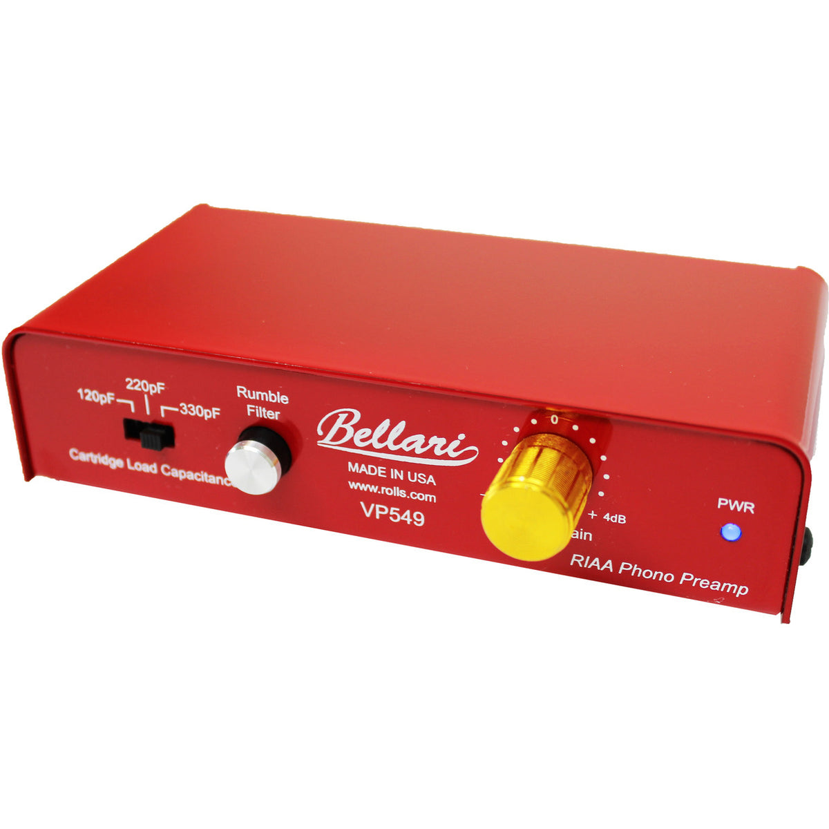 Bellari: VP549 RIAA Phono Preamplifier