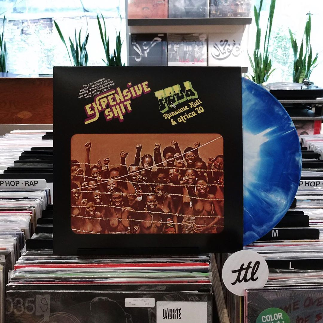 Fela Ransome Kuti & Africa 70: Expensive Sh*t (Colored Vinyl) Vinyl LP - Turntable Lab Exclusive