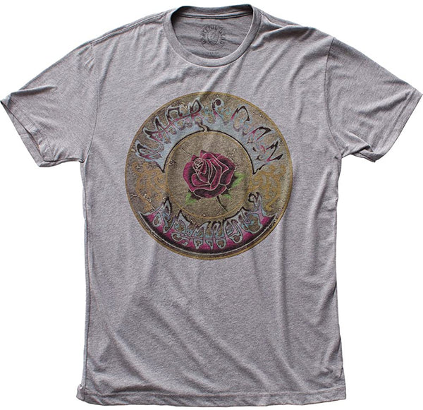 Grateful Dead: American Beauty Shirt - Grey