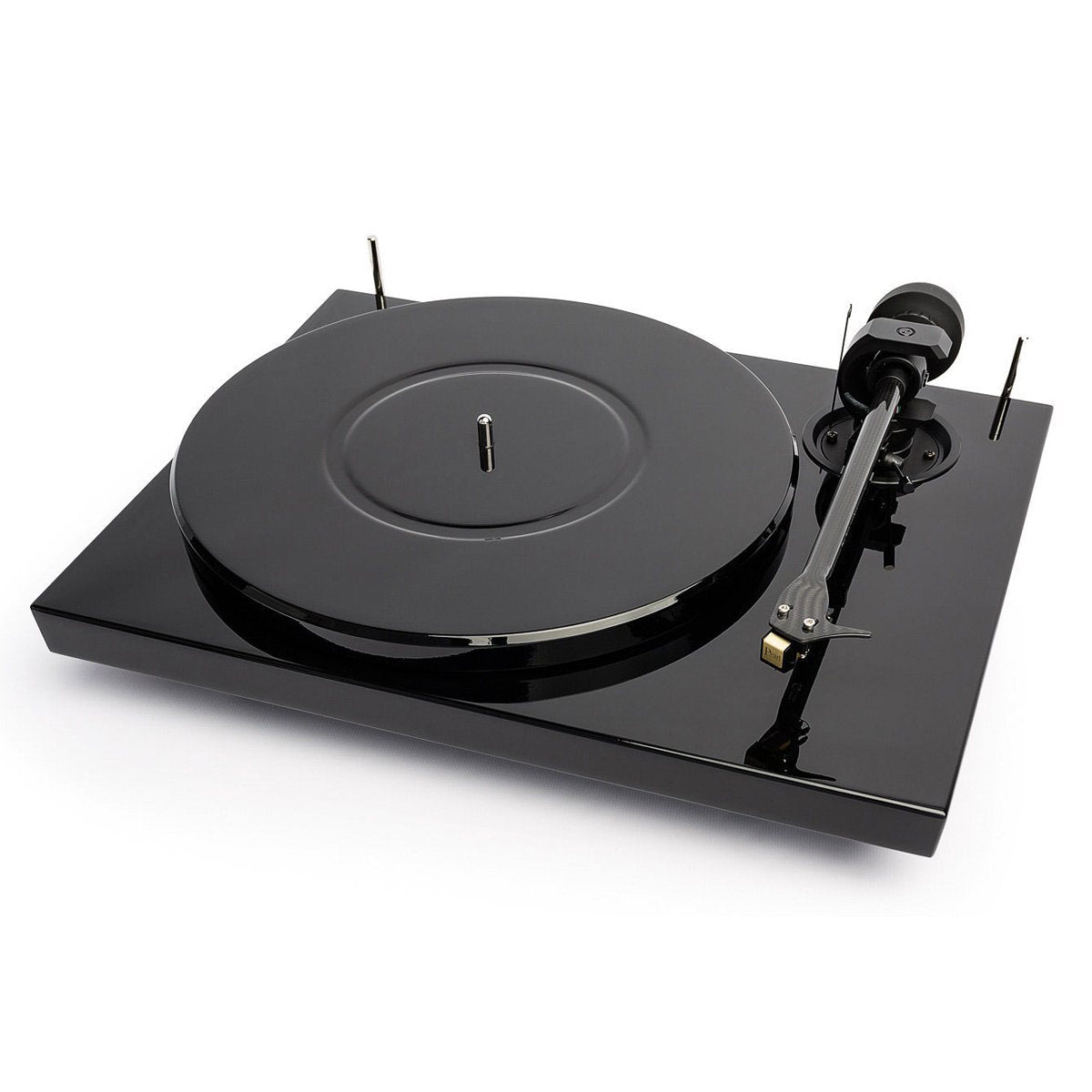 Pro-Ject: 1 Xpression Carbon Turntable / Pearl Cartridge - Piano Black