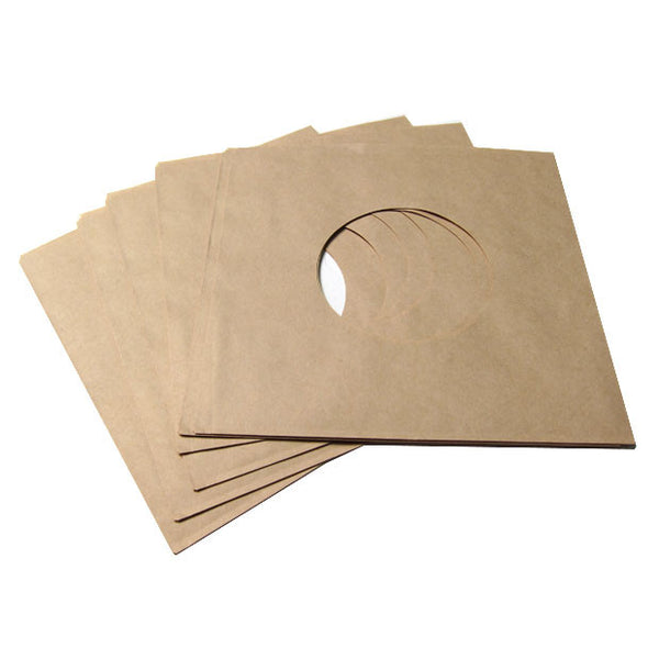 "Record Supply Co: 7"" Sleeves - Brown Paper (25 Units)"