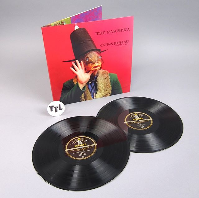 Captain Beefheart And His Magic Band: Trout Mask Replica (180g) Vinyl 2LP