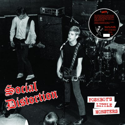 Social Distortion: Poshboy's Little Monsters (Colored Vinyl) Vinyl LP (Record Store Day)