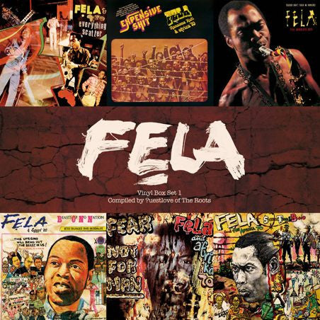 Fela Kuti: Vinyl Box Set #1 (Compiled by ?uestlove)