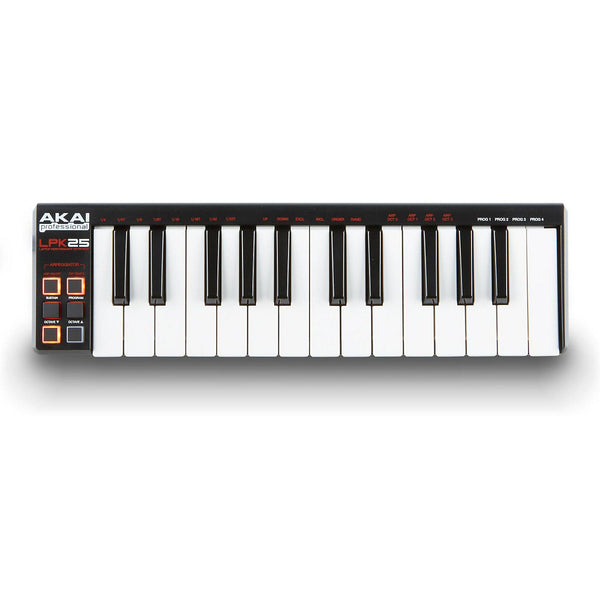 Akai: LPK25 Laptop Performance Keyboard Controller LPK25V2