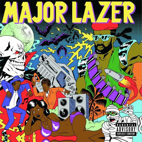 Major Lazer: Guns Don't Kill People... Lazers Do (with FREE MP3 Download) 2LP