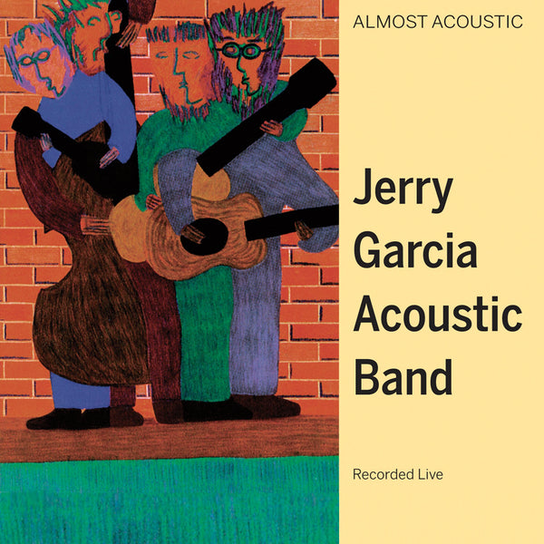 Jerry Garcia Acoustic Band: Almost Acoustic (Colored Vinyl) Vinyl 2LP (Record Store Day)