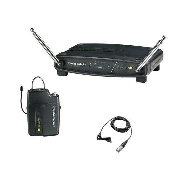 Audio Technica: ATW-901a/L (ATW-R900a receiver, ATW-T901a body-pack transmitter w/ lavalier microphone) - OPEN BOX SPECIAL
