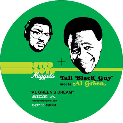 Tall Black Guy: Meets Al Green Vinyl 7""
