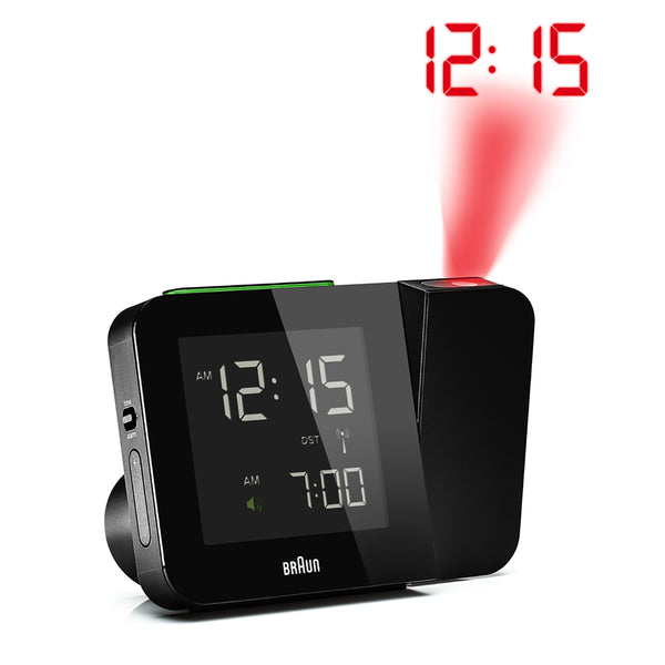 Braun: Digital Tilt Alarm Clock - Black (BN-C015BK-RC)