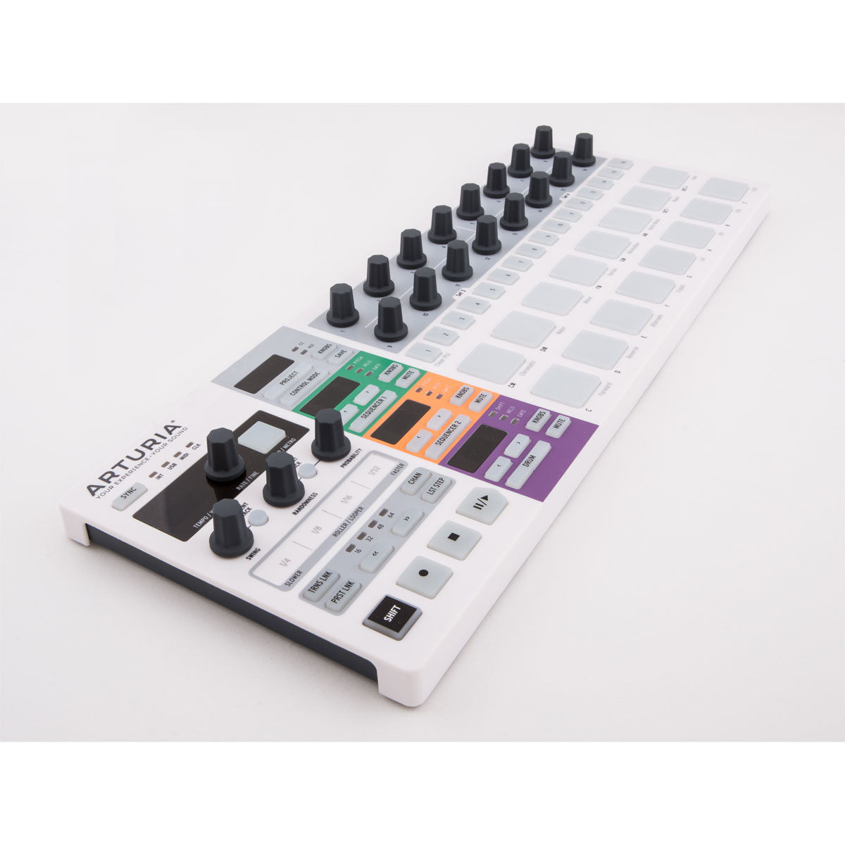 Arturia: BeatStep Pro Controller + Sequencer angle
