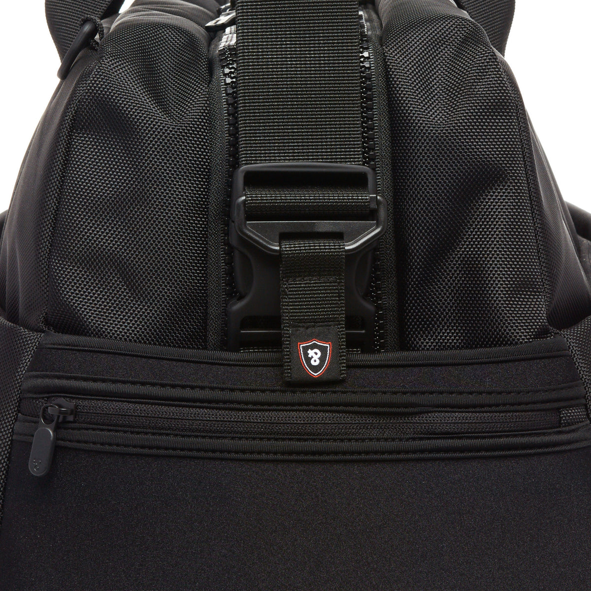 Lexdray: Beijing Duffel - Black (14105-BN) detail