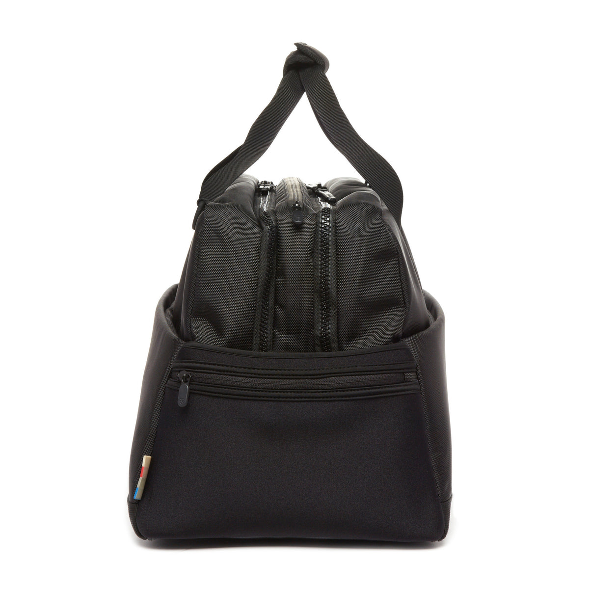 Lexdray: Beijing Duffel - Black (14105-BN) side