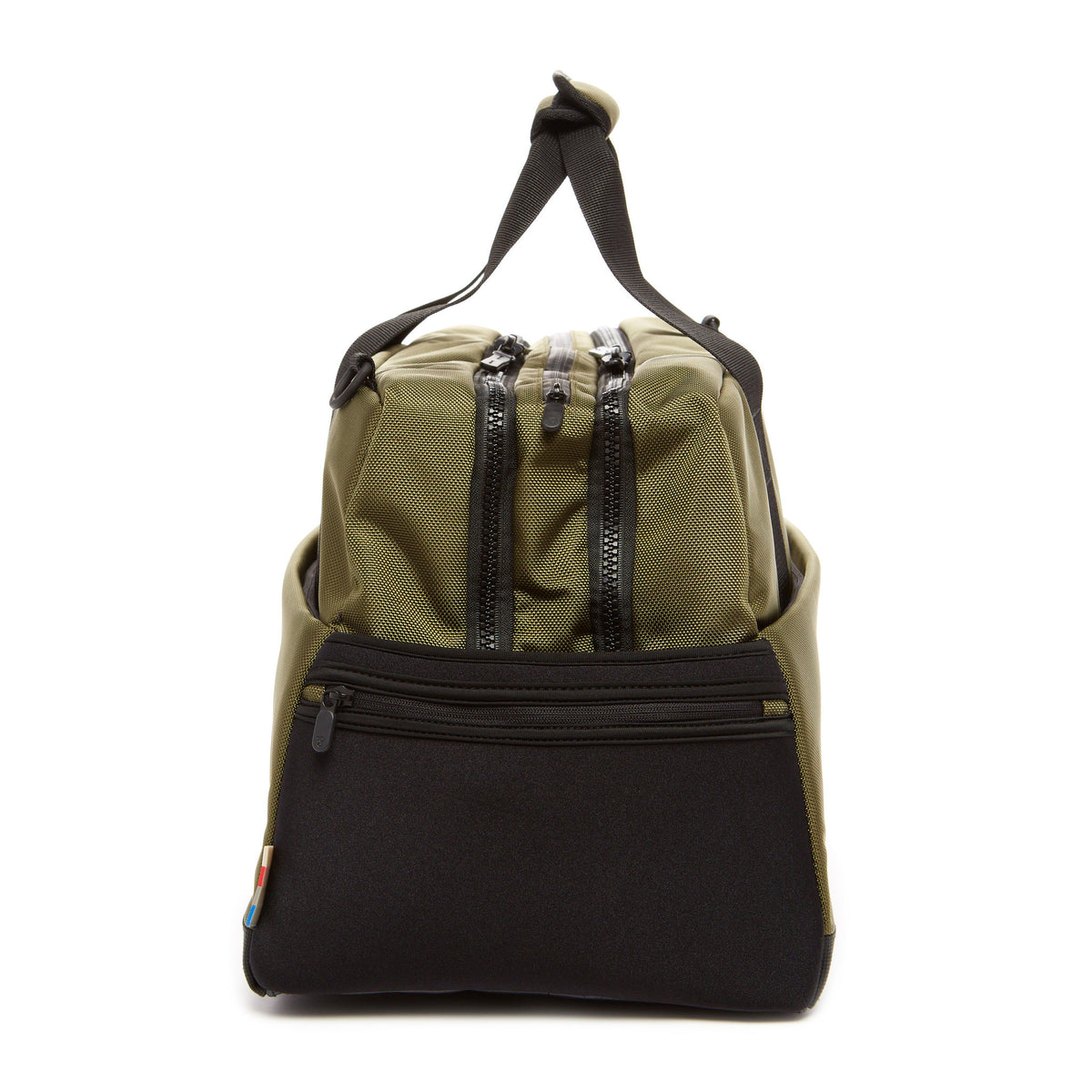 Lexdray: Beijing Duffel - Olive (14105-ON) detail side