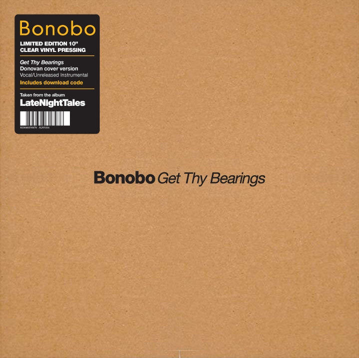 "Bonobo: Get Thy Bearings Vinyl 10"" (Record Store Day 2014)"