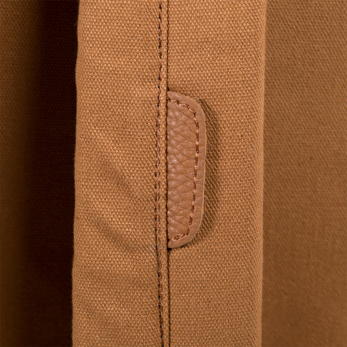 Herschel Supply Co.: Settlement Backpack - Caramel Coated Cotton Canvas (Select Series) detail