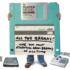 All The Breaks: 300 Essential Drum Breaks CD
