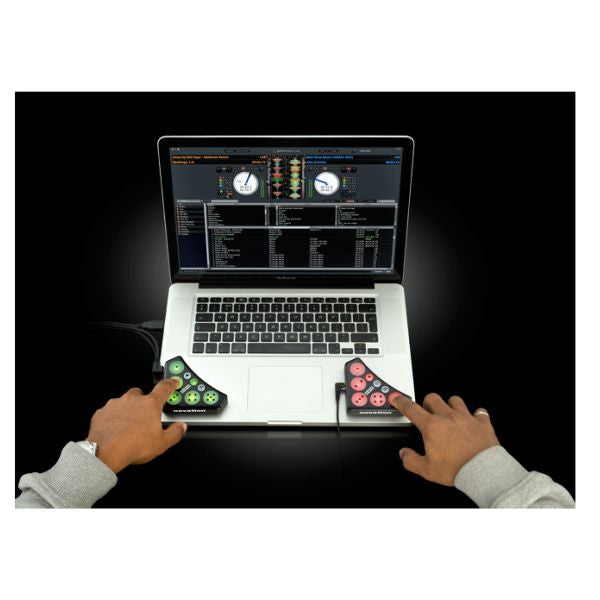 Novation: Dicer Digital DJ Controller (Pair) on macbook