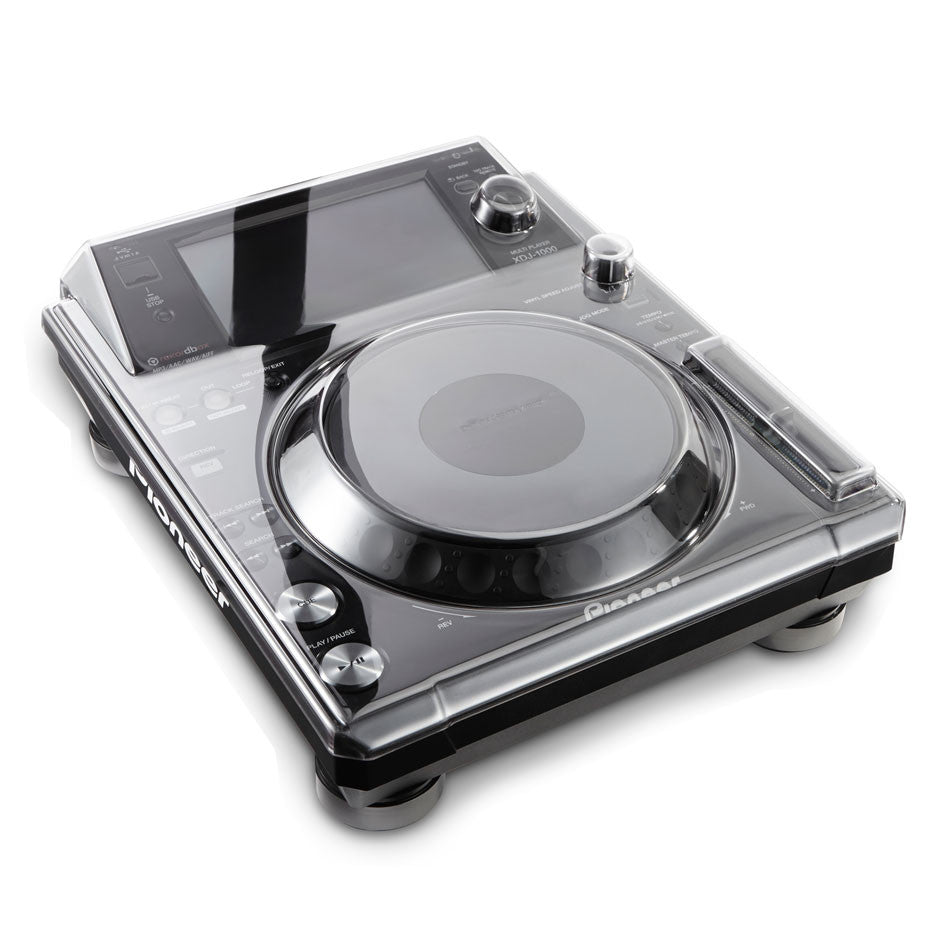 Decksaver: Polycarbonate Dustcover for Pioneer XDJ-1000 (DS-PC-XDJ1000)