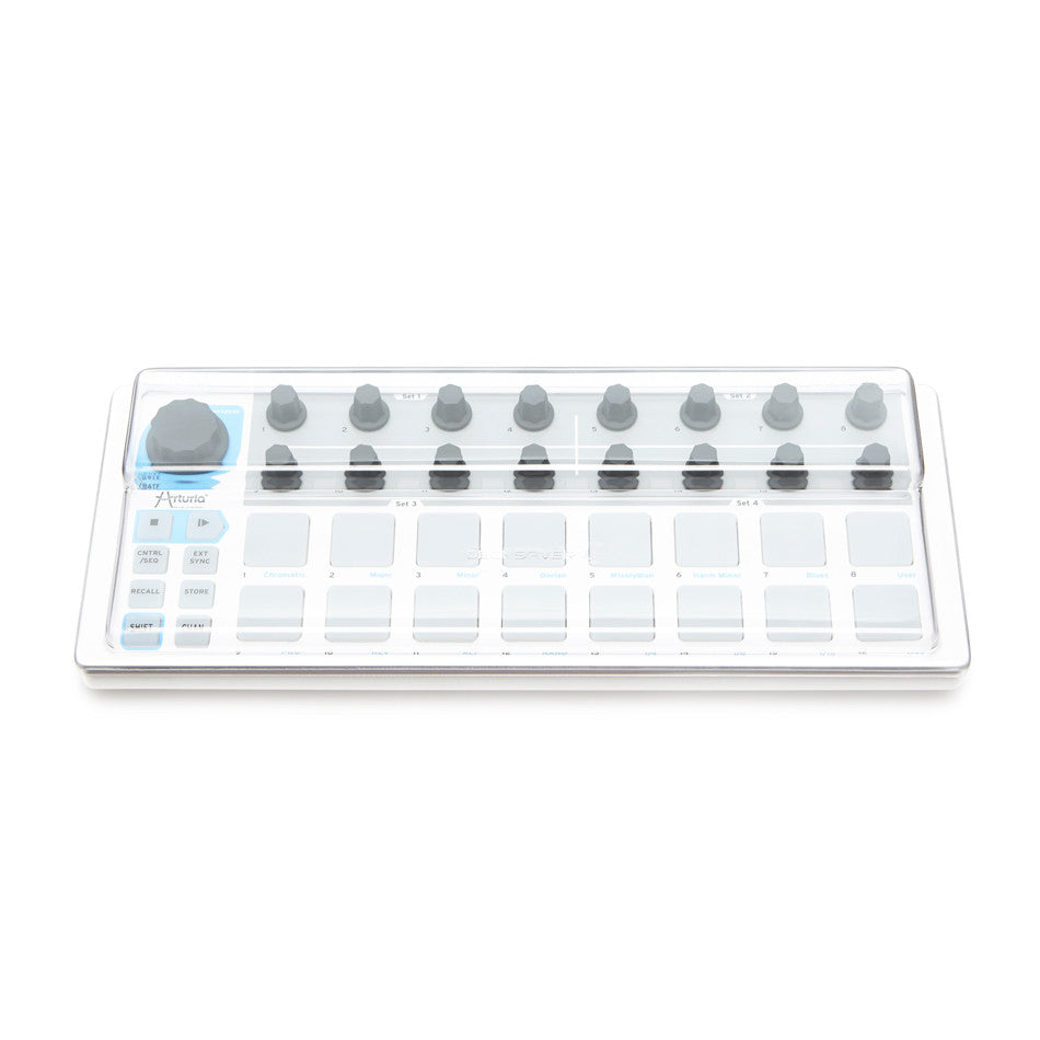 Decksaver: Polycarbonate Dust Cover for Arturia BeatStep (DSLE-PC-BEATSTEP)