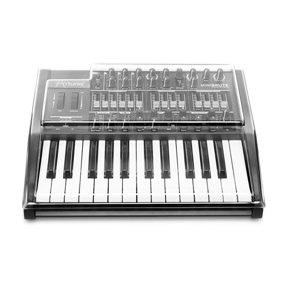 Decksaver: Polycarbonate Dust Cover for Arturia MiniBrute (DSLE-PC-MINIBRUTE)