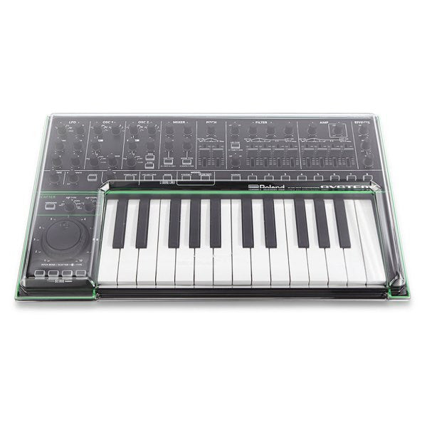 Decksaver: Polycarbonate Dust Cover for Roland Aira System 1 (DSS-PC-SYSTEM1) top