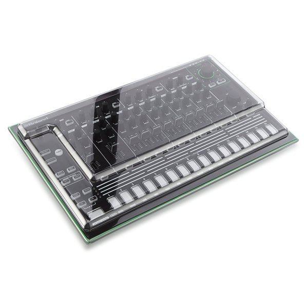 Decksaver: Polycarbonate Dust Cover for Roland Aira TR-8 (DSS-PC-TR8)