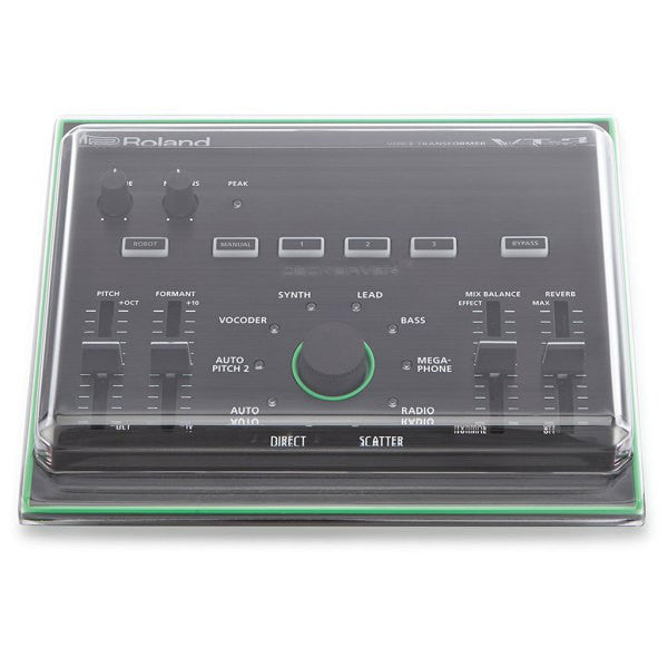 Decksaver: Polycarbonate Dust Cover for Roland Aira VT-3 (DSS-PC-VT3) top