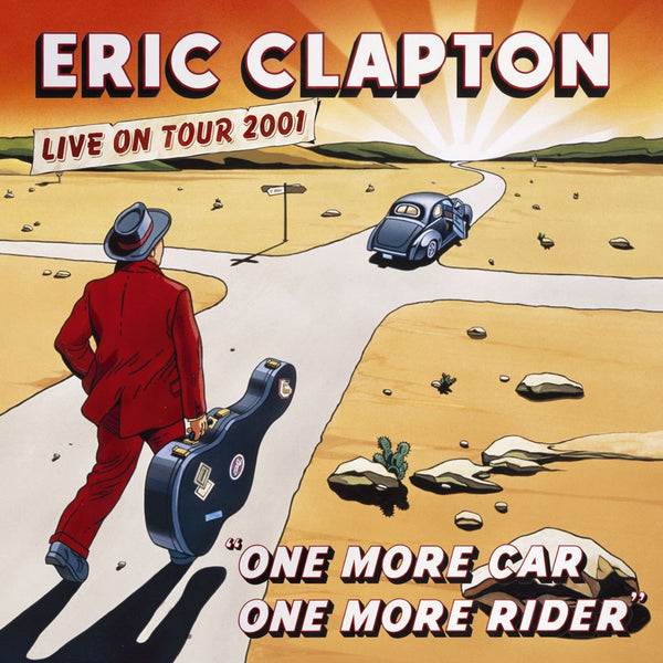 Eric Clapton: One More Car, One More Rider Vinyl 3LP (Record Store Day)
