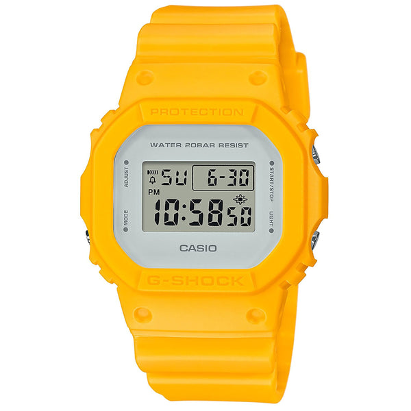 G-Shock: DW-5600CU-9 Watch - Marine Yellow