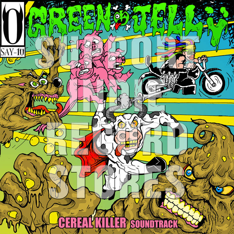 Green Jelly: Cereal Killer Soundtrack (Colored Vinyl) Vinyl LP (Record Store Day)