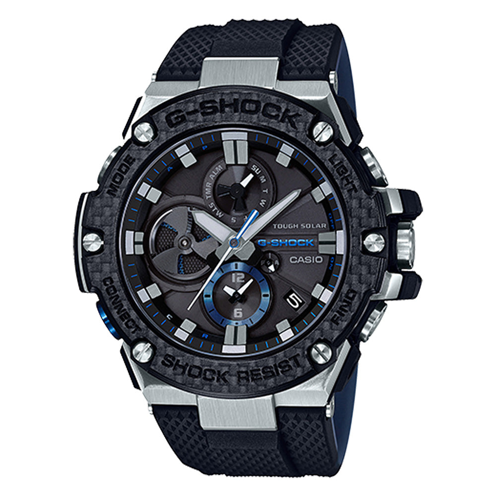 G-Shock: GSTB100XA-1A G-Steel Watch - Black