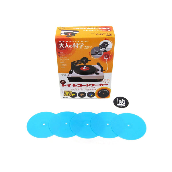 Gakken: Replacement Vinyl for Easy Record Maker - 5 Pack / Blue