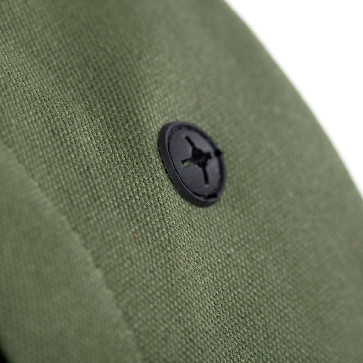 Herschel Supply Co.: Heritage Backpack - Army Coated Cotton Canvas / Indigo Denim (Select Series) detail 4