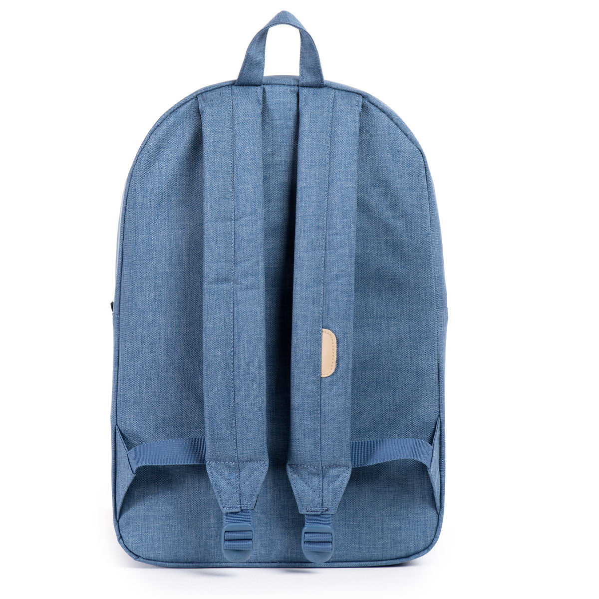 Herschel Supply Co.: Heritage Backpack - Navy / Straw Crosshatch (Ranch) back
