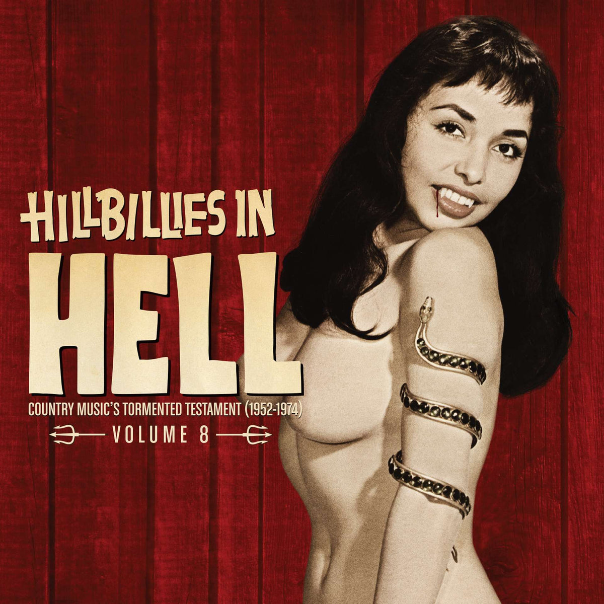 Hillbillies In Hell: Hillbillies In Hell: Volume 8 (Colored Vinyl) Vinyl LP (Record Store Day)