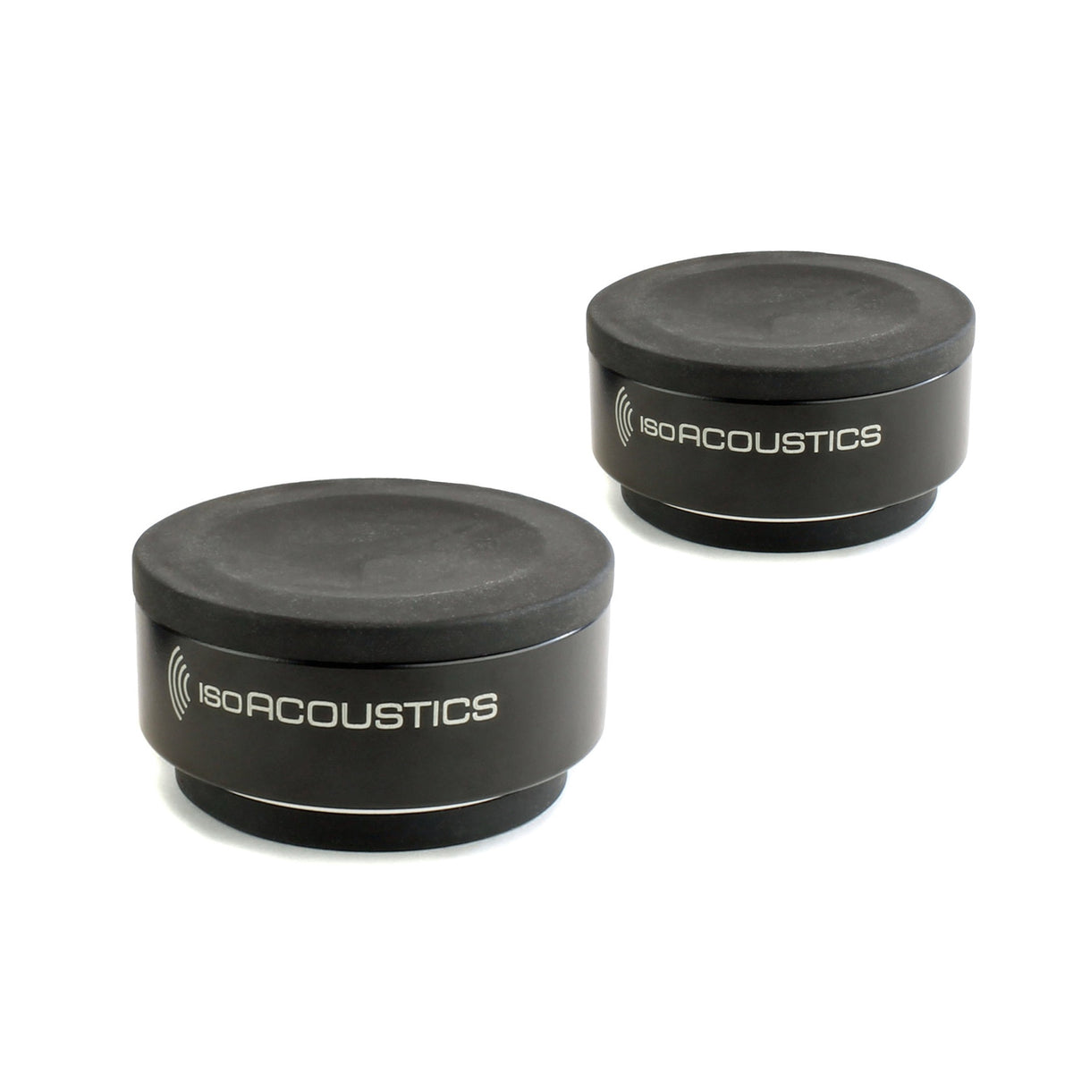 IsoAcoustics: Iso-Puck Isolation Puck for Studio Monitors + Amps (2 Pack)