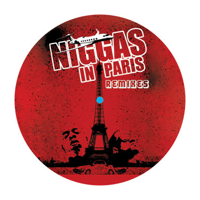 Kanye West & Jay-Z: N*ggaz In Paris Remixes 12""