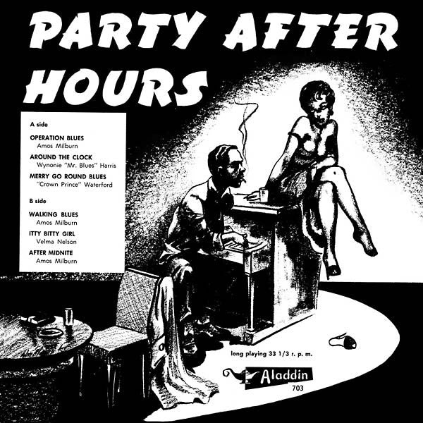 "Jazzman Records: Party After Hours Vinyl 10"" (Record Store Day)"