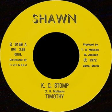 Timothy Mcneely: KC Stomp 7""